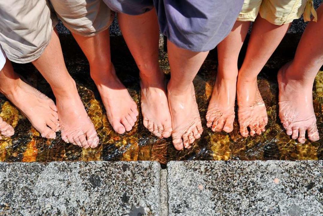 Füße brauchen viel Pflege.  | Foto: Patrick Seeger
