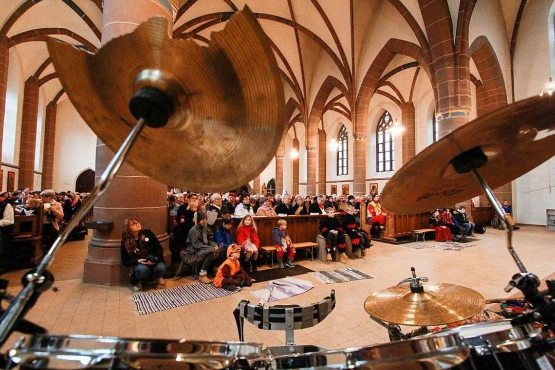 Die Kirche war gut besucht.    Foto: Patrik Müller