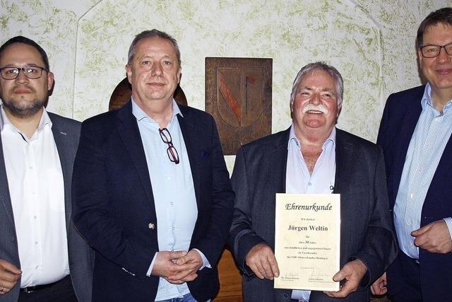 Jürgen Weltin tritt nach 33 Jahren ab