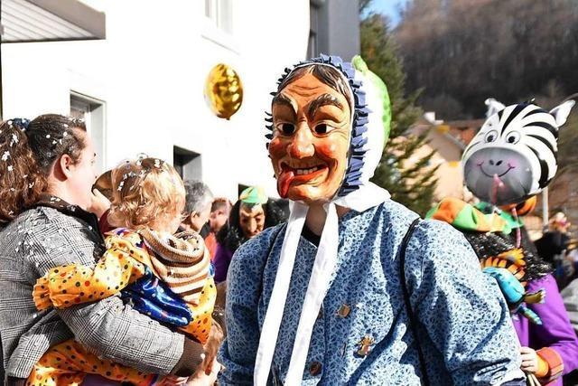 Kinderumzug in Inzlingen bietet Spaß für Groß und Klein