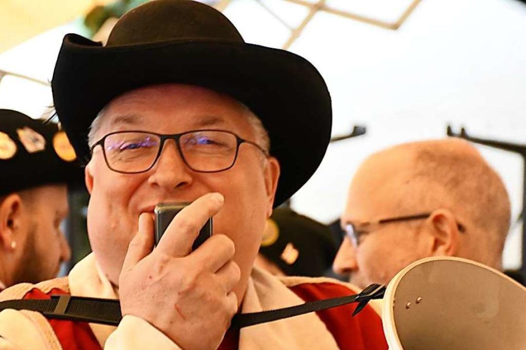Jörg Rosskopf wurde in lange Diskussionen verwickelt.  | Foto: Barbara Ruda