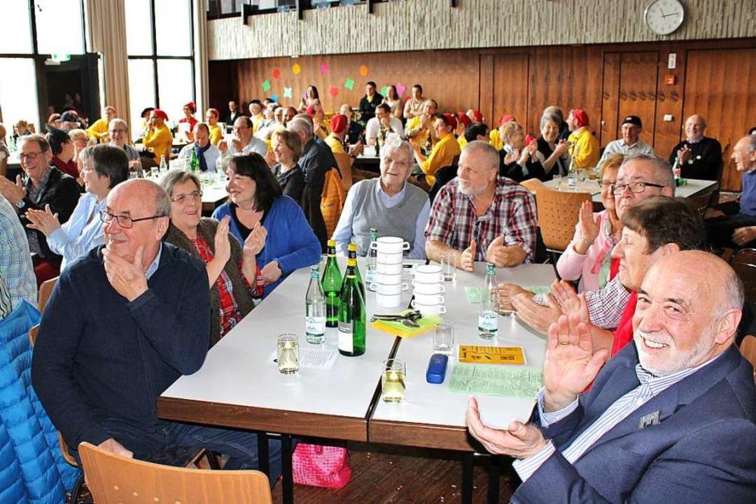 Die Gäste hatten ihre Spaß.  | Foto: Rolf Reißmann