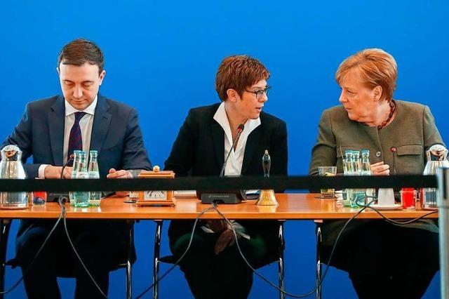 Das große Durcheinander in der CDU