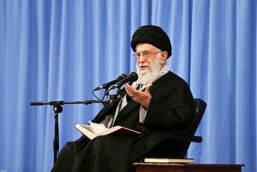 Ayatollah Ali Khamenei  | Foto: - (AFP)