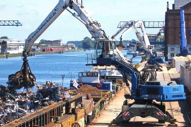 Hafendirektor Uwe Köhn: