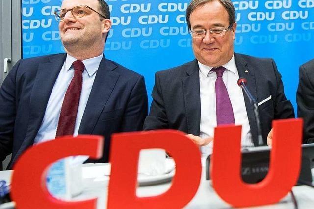 Merz und Laschet kandidieren für CDU-Vorsitz, Spahn soll Laschet unterstützen
