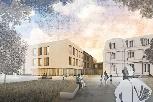 Mädchenschule St. Ursula stellt den geplanten Neubau in der Wiehre vor