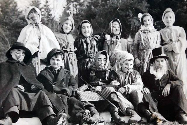 So feierten die Rickenbacher Kinder vor mehr als 70 Jahren Fasnacht