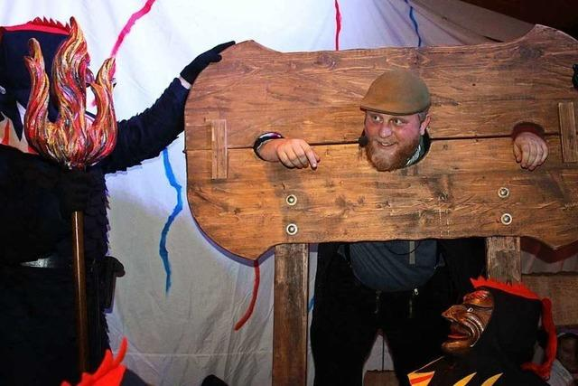 Fotos: Narrenschoppen und Narrengericht in Kollnau