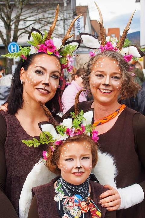 Auch die Zuschauer waren kostümiert.  | Foto: Markus Donner