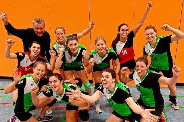 Warum Bad Säckingens Volleyballerinnen vor dem nächsten Aufstieg stehen