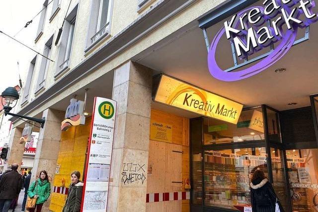 DM und Kreativ-Markt in der Kaiser-Joseph-Straße werden saniert