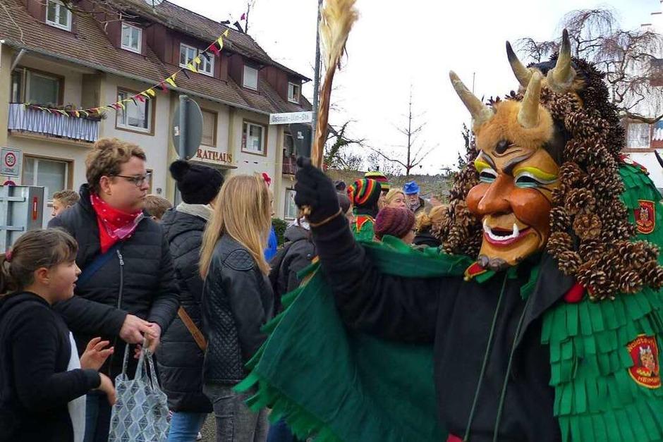 Ohne sie geht in Heimbach gar nichts: Die Waldteufel in Aktion (Foto: Aribert Rüssel)