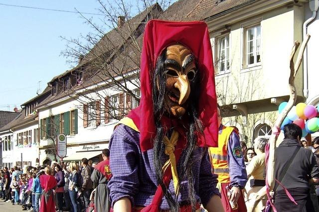 Im Markgräflerland wird die Bauernfasnet gefeiert