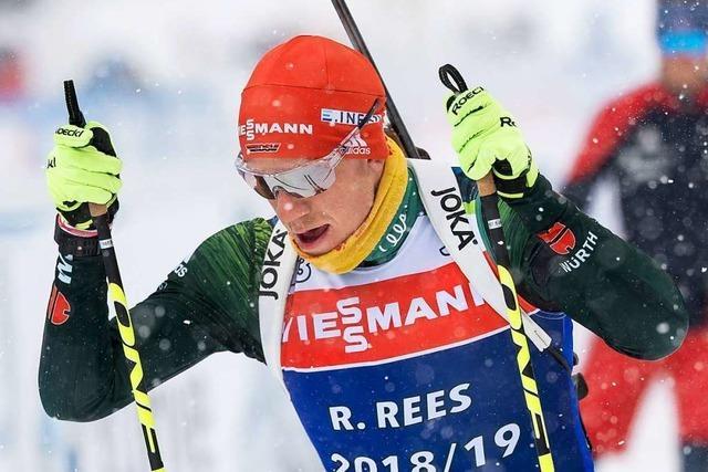 Roman Rees hat bei der Europameisterschaft eine Medaille im Visier