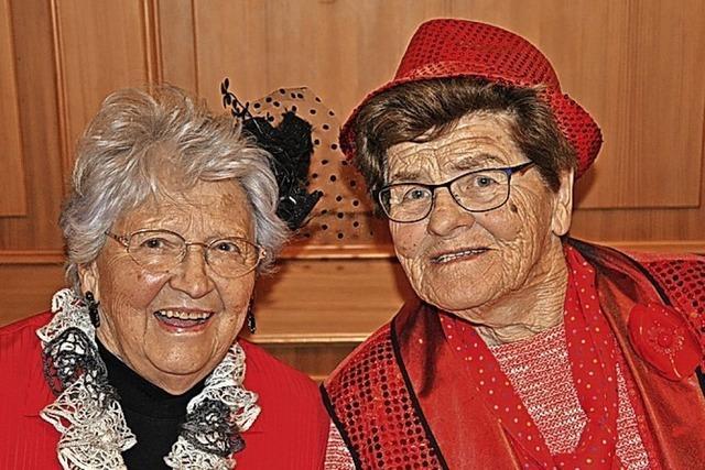 Senioren feiern Fasnacht