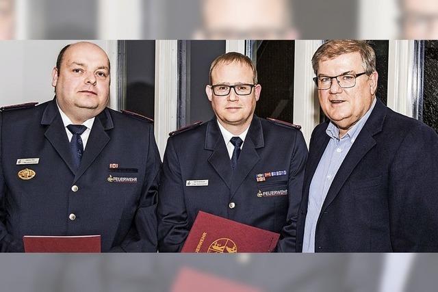 Wechsel bei der Feuerwehr