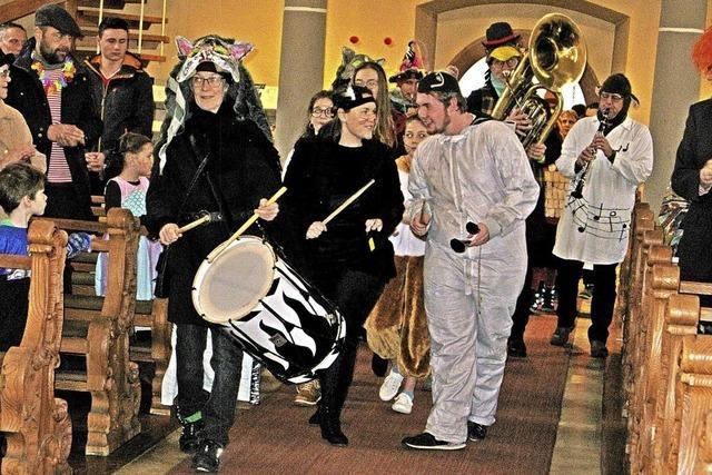 Bernauer Narren feiern ökumenisch