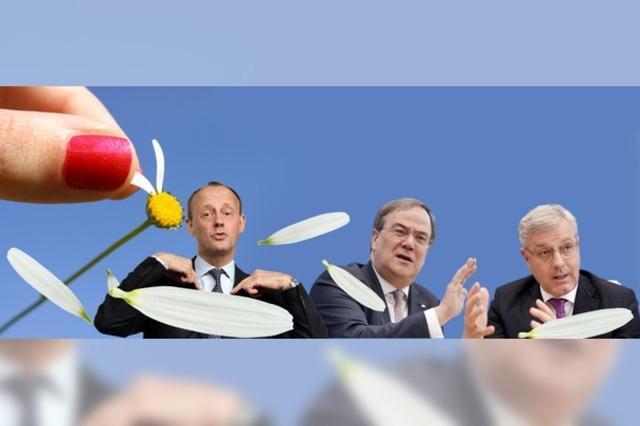 Kampfabstimmung um CDU-Vorsitz