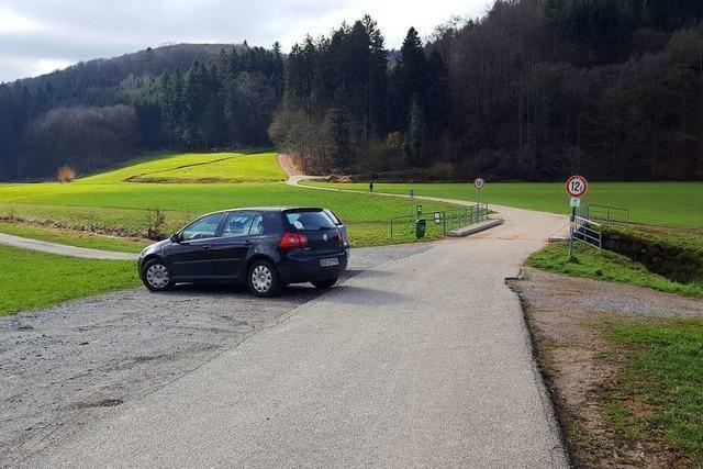 Neuer Wanderparkplatz bei Seelbach sorgt für Ärger