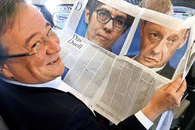 Kampf um den CDU-Vorsitz: Merz und Laschet im Vergleich