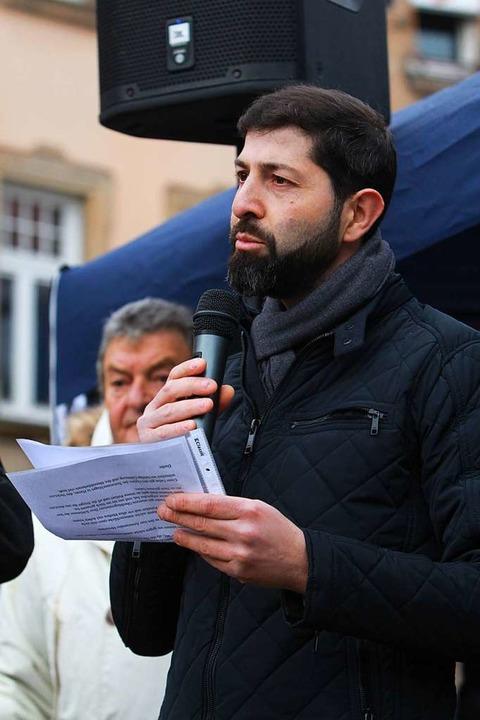 Ömer Yanik, Sprecher des türkisch-islamischen Kulturvereines  | Foto: Patrik Müller
