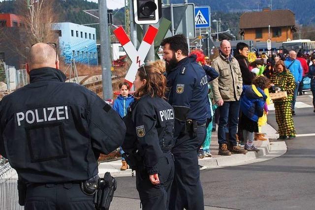 Polizei lobt Fasnetveranstalter im Landkreis Breisgau-Hochschwarzwald
