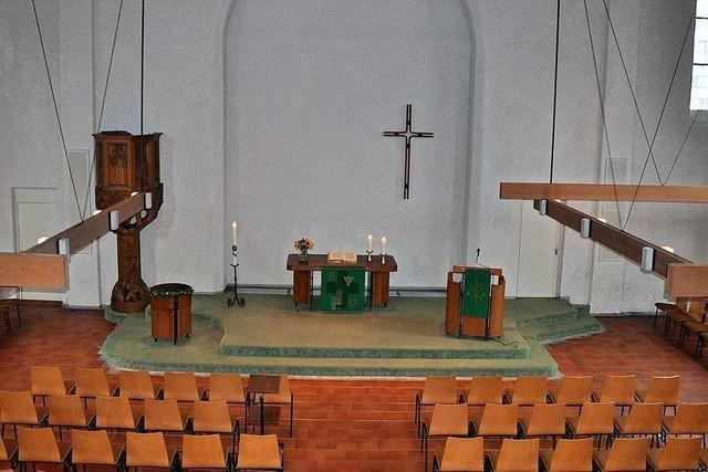 Die Evangelische Stadtkirche Waldkirch wird umgebaut – Gottesdienste bis Dezember in katholischen Kirchen