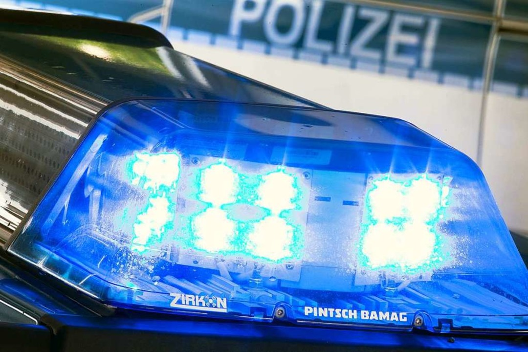 Ein 46-Jähriger übersah ein Stoppschil...Heuweiler und Glottertal einen Unfall.  | Foto: Friso Gentsch (dpa)