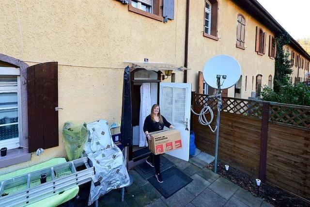Mieter ziehen aus Knopfhäuslesiedlung in der Freiburger Wiehre aus