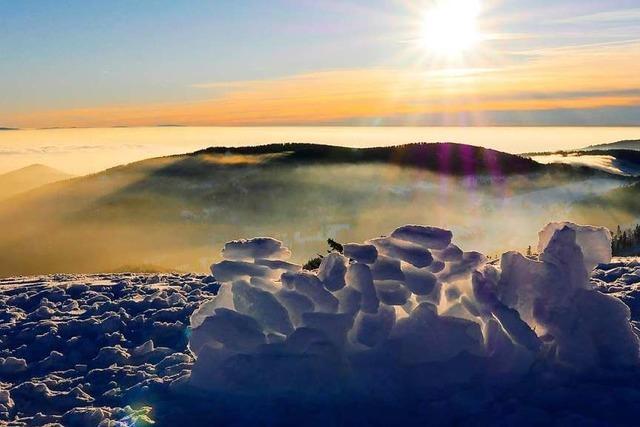 Badischer Berg, von der Sonne verwöhnt