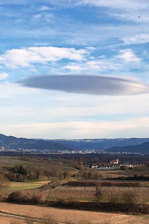Ufo über Opfingen?    Foto: Oliver Beck
