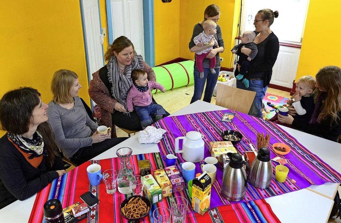 Ein Elterncafé, wie hier schon in Frei...es demnächst auch in Löffingen geben.     Foto: Ingo Schneider