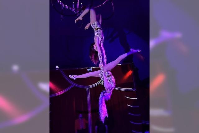 Zirkus Lamberti präsentiert im Gewerbegebiet Radackern ein Programm für die ganze Familie
