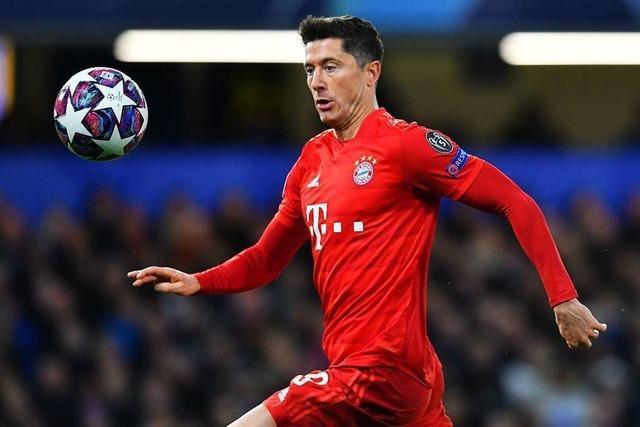 Bayern-Star Lewandowski fällt vier Wochen aus - Bein in Gips