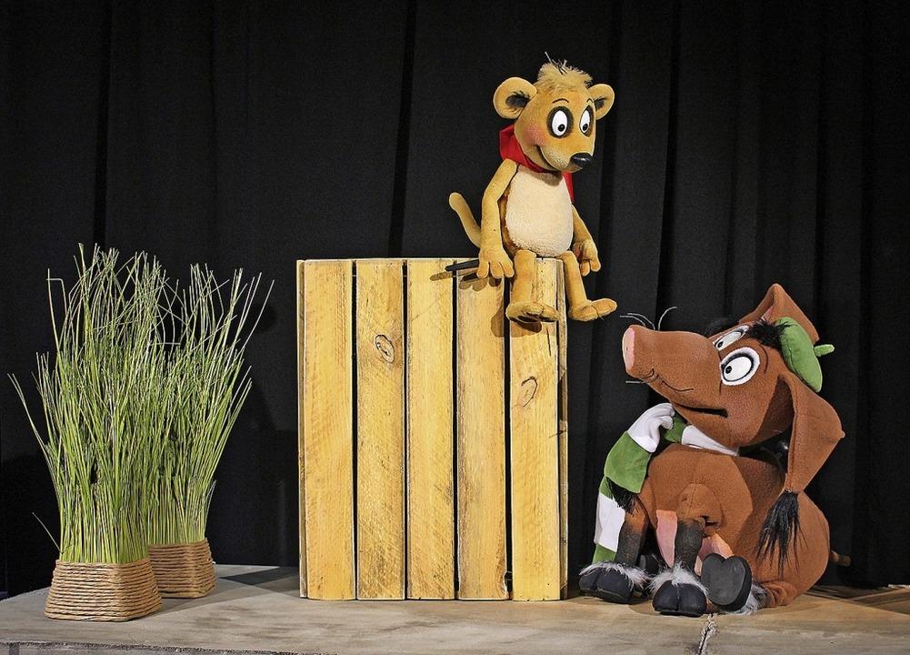 Die Hauptfiguren beim Figurentheater Marmelock.    Foto: Privat
