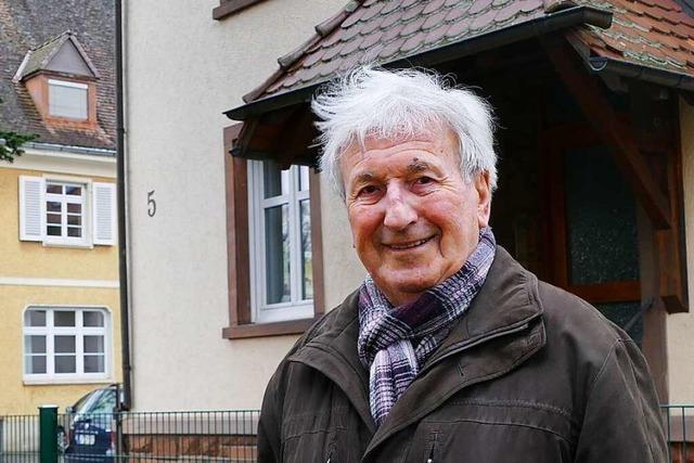 Ein Zeitzeuge erinnert sich, wie Fliegerbomben auf Schopfheim fielen