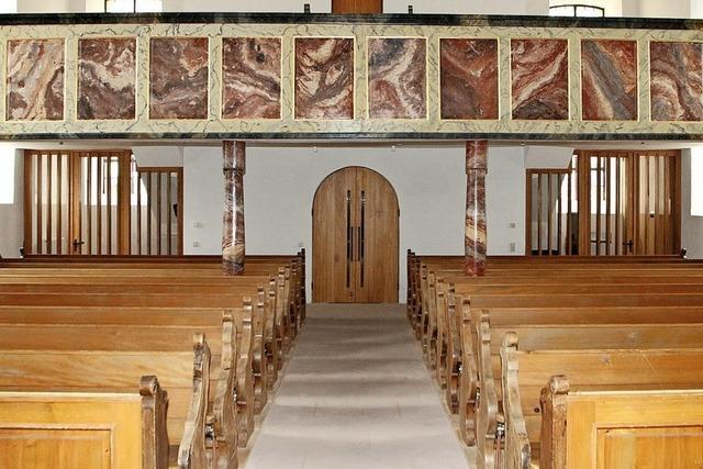 Die Sanierung der Kirche ist geschafft
