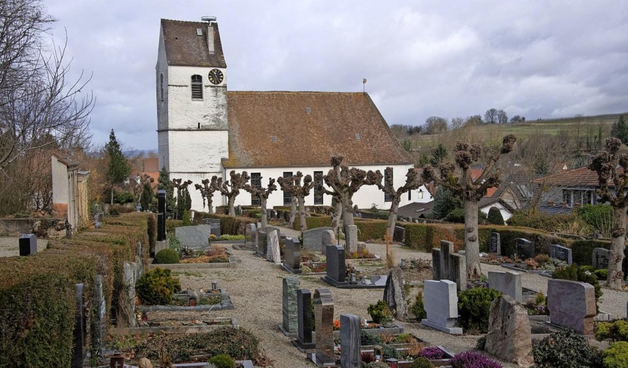 Der Friedhof in Buggingen soll umgesta...ränderte Bestattungsrituale reagieren.    Foto: Volker Münch