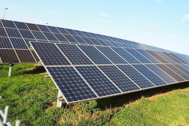 In Fröhnd will man Konflikten rund um den Solarpark vorbeugen
