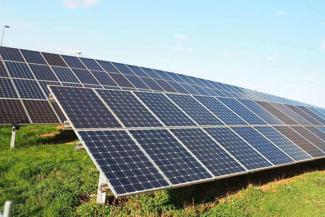 In Künaberg soll ein großflächiger Sol... Forum Energiedialog zusammenarbeiten.  | Foto: Michael Haberer