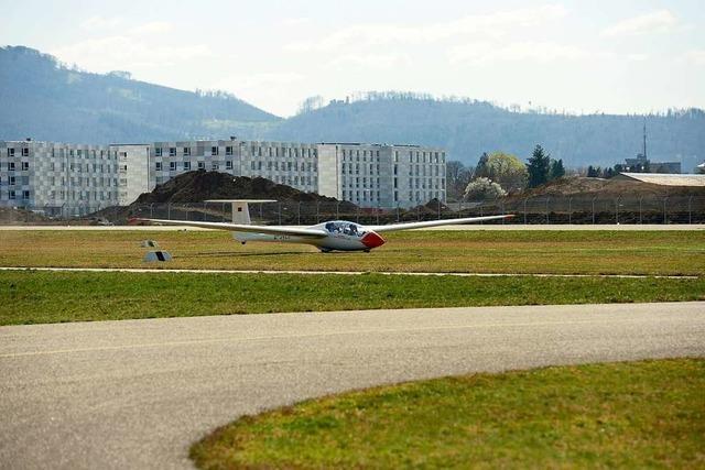 Anflughilfe am Freiburger Flugplatz bringt ein Plus an Sicherheit
