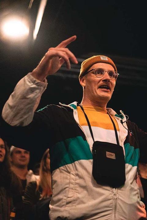 Beim Rap Anker im Artik messen sich einmal im Monat die besten Rapper der Stadt.    Foto: Fabio Smitka