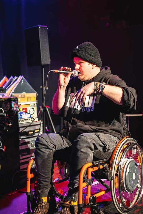 Rapper Cripsta    Foto: Fabio Smitka