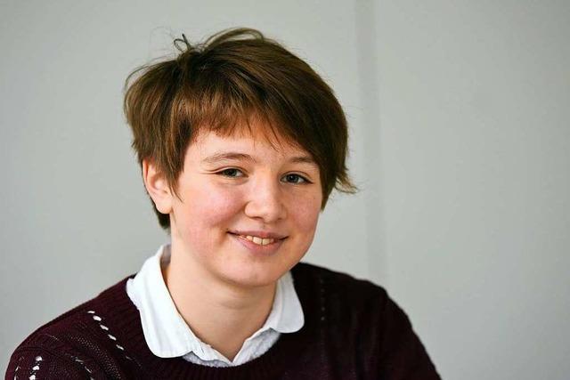Anna Luchnikova ist Siegerin beim Bundeswettbewerb Mathematik