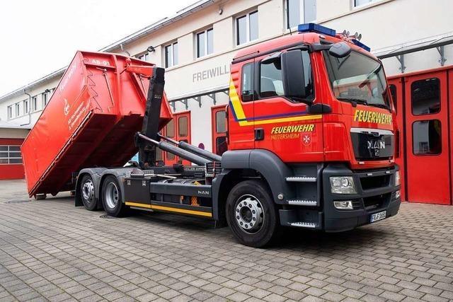 Freiwillige Feuerwehr Kirchzarten plant Systemwechsel bei Fahrzeugen