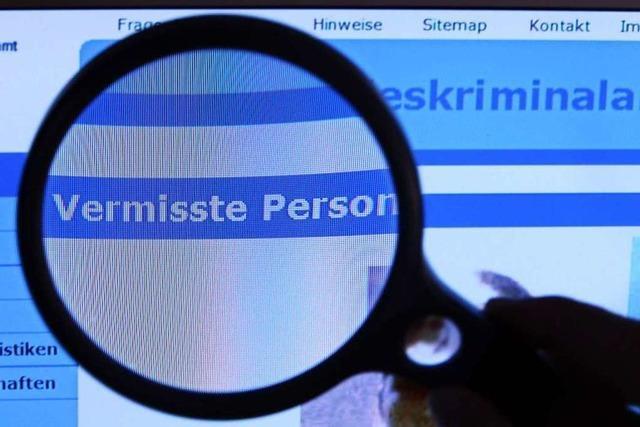 Vermisster aus dem Raum Lörrach in Freiburg gefunden