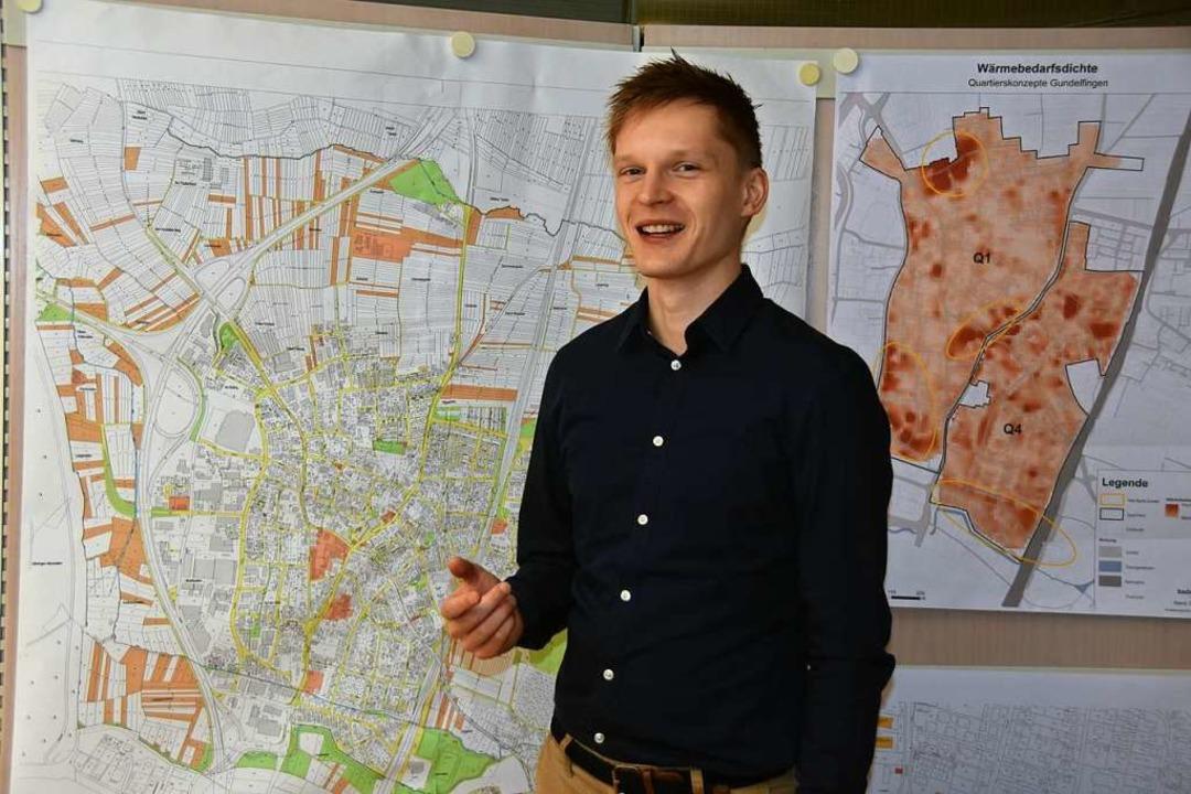 David Matuschek ist Klimaschutzbeauftragter in Gundelfingen.  | Foto: Andrea Steinhart