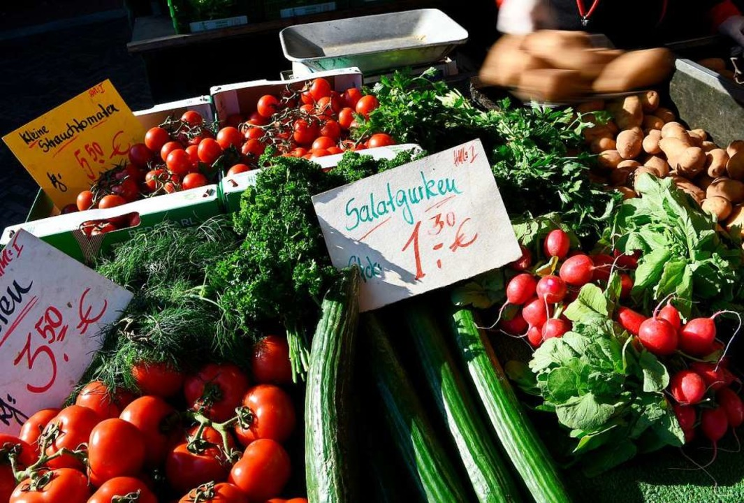 Auch heimisches Gemüse kaufen, hilft  | Foto: Holger Hollemann