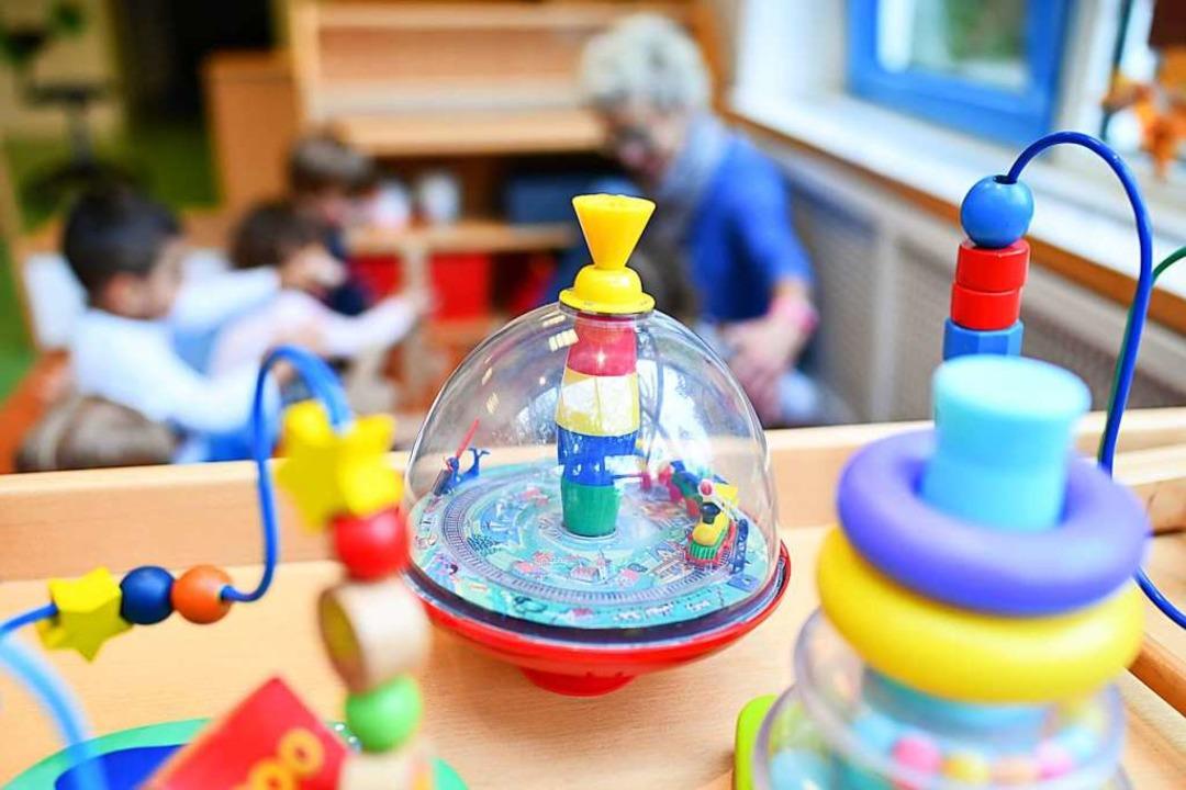 Fachkräftemangel im Kindergarten (Symbolbild)  | Foto: Uwe Anspach